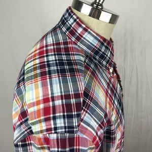 Brooks Brothers Shirts - Brooks Brothers short sleeve plaid button down